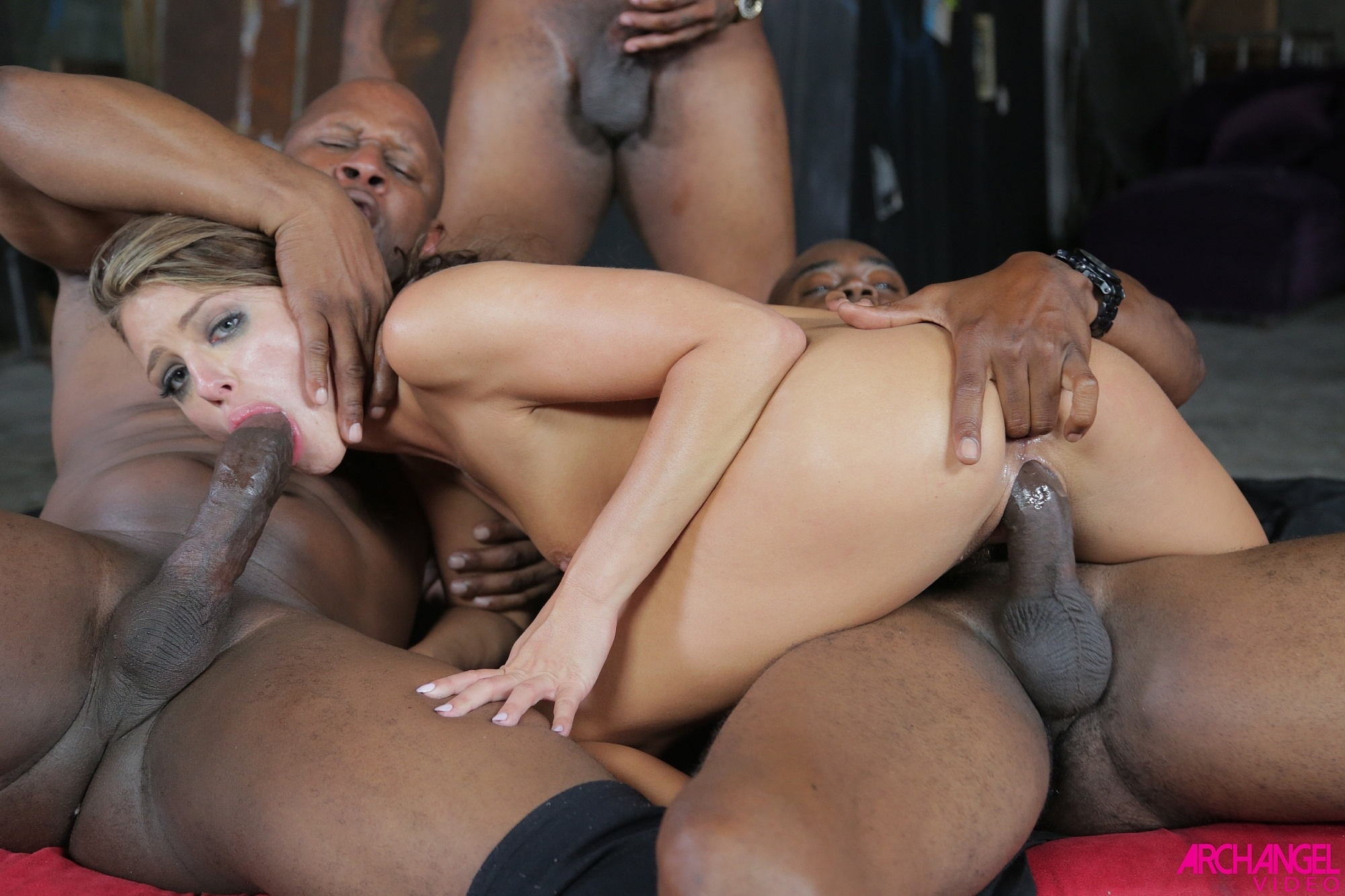 Adriana fucks black guys 3